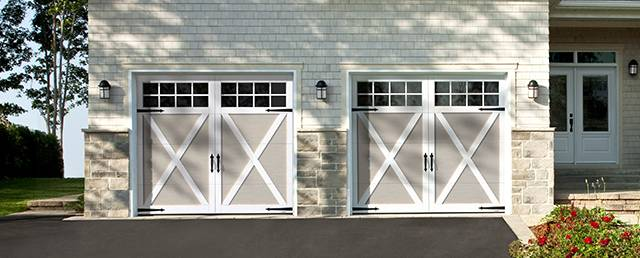 Omaha Overhead Garage Door Repairs. Eastman E 21, 9u0027 X 7u0027, Claystone Doors  And Ice White